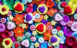 Preview wallpaper Colorful buttons, many kinds