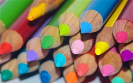 Preview wallpaper Colorful pencils, drawing tools