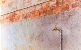 Faucet, wall