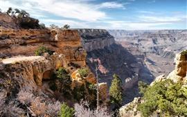 Гранд-Каньон, Аризона, США, горы, скалы
