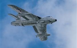 Hawker Hunter, bombardero, vuelo, cielo