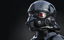 Preview wallpaper Helmet, soldier, Star Wars