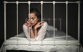 Solidão na cama