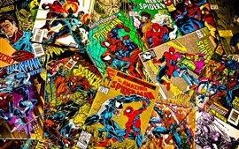 Preview wallpaper Marvel comics, magazines, covers, spiderman