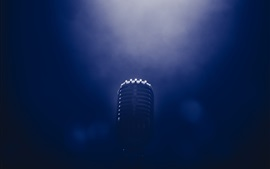 Preview wallpaper Microphone, darkness