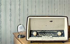 Rádio antigo, receptor