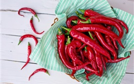 Preview wallpaper Red pepper, chili, vegetables