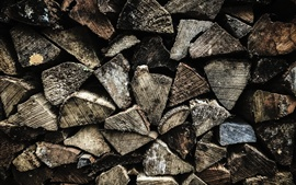 Preview wallpaper Wooden texture background, firewood
