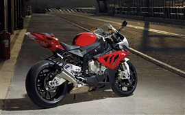 Preview wallpaper BMW S1000RR red motorbike