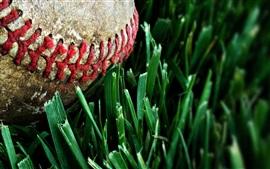 Preview wallpaper Baseball, dust, grass