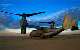 Preview wallpaper Bell Boeing V-22 Osprey military aircraft