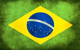 Preview wallpaper Brazil flag