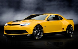 Preview wallpaper Bumblebee as a car, Transformers