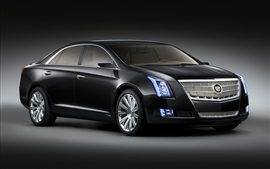 Cadillac black car