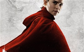 Preview wallpaper Daisy Ridley, Star Wars: The Last Jedi