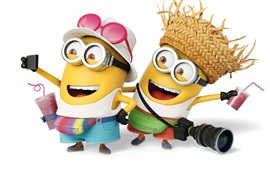 Preview wallpaper Despicable Me 3, lovely minions