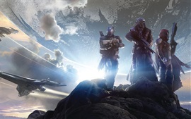 Preview wallpaper Destiny, soldiers, aircraft