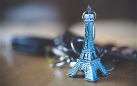 Preview wallpaper Eiffel Tower toy, decoration