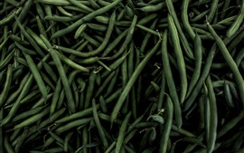 Green beans, vegetables, darkness