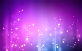Preview wallpaper Light circles, purple background