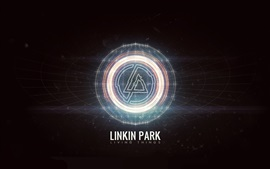 Preview wallpaper Linkin Park rock band abstract logo