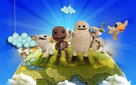 Preview wallpaper Little Big Planet, PS4 games