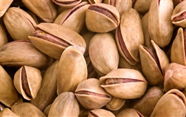 Preview wallpaper Many Pistachios, nuts