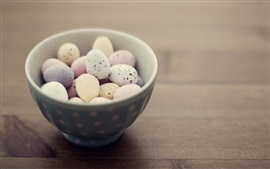 Preview wallpaper One bowl of bird eggs