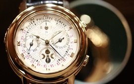 Preview wallpaper Patek Philippe Geneve watch