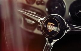Preview wallpaper Porsche steering wheel