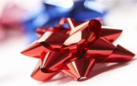 Preview wallpaper Red bow, decoration