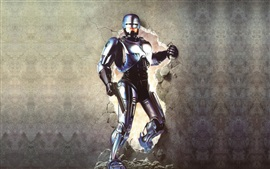 Robocop, pared