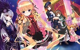Preview wallpaper Rozen Maiden, lovely anime girls