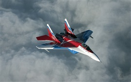 Preview wallpaper Russian Mig-29M fighter flight