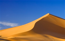 Preview wallpaper Sahara Desert, sand hill, blue sky
