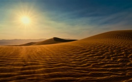 Preview wallpaper Sahara Desert, sunshine