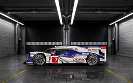 Preview wallpaper Toyota TS040 Hybrid race car