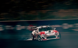 Preview wallpaper Toyota race car speed, drift