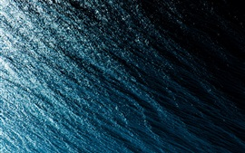 Preview wallpaper Water surface, waves, shine