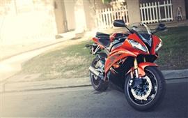 Aperçu fond d'écran Yamaha YZF R6 moto