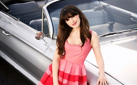 Preview wallpaper Zooey Deschanel 04