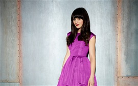 Preview wallpaper Zooey Deschanel 05