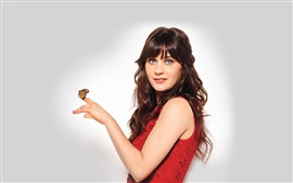 Preview wallpaper Zooey Deschanel 06