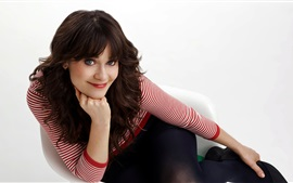 Preview wallpaper Zooey Deschanel 09