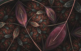 Preview wallpaper Abstraction leaves