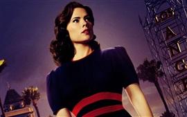 Agente Carter, Hayley Atwell como Peggy Carter