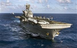 Preview wallpaper Amphibious assault ship, Navy