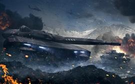 Preview wallpaper Armored Warfare, PC games