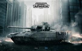 Preview wallpaper Armored Warfare, tank