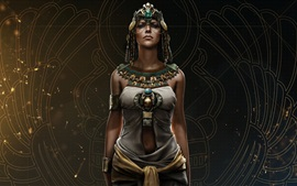 Preview wallpaper Assassin's Creed: Origins, Cleopatra, Ubisoft games